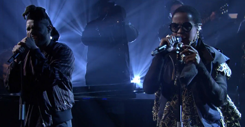 The Weeknd and Ms Lauryn Hill Performance