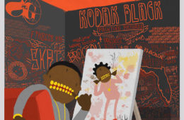 Kodak Black Painting Pictures album