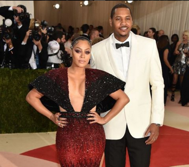 Carmelo and La La Anthony Separation