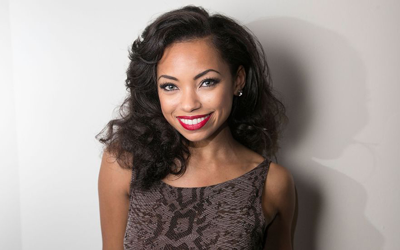 Logan Browning Has Grown Before Our Eyes Now The Talented