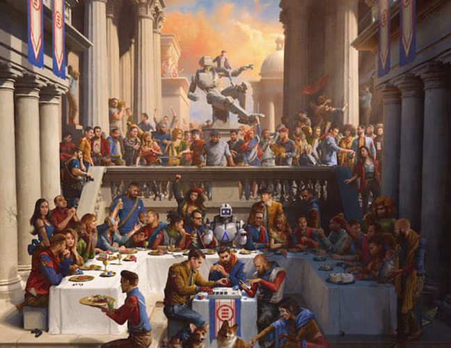 Logic Everybody Album Cover Everybody first week sales