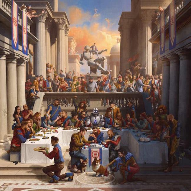 Logic Everybody Album Cover