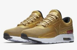 Nike Metallic Gold Air Max Zero