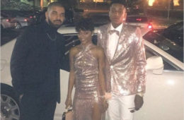 Drake Attends Prom