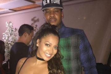 La La Anthony Not Divorcing Carmelo