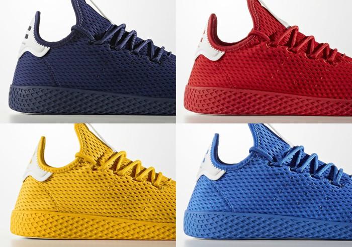 Adidas Hu Tennis Sneaker