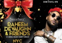 Raheem DeVaughn & Friends Holiday Concert