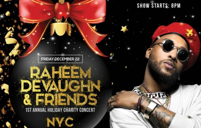 Raheem DeVaughn & Friends Holiday Concert