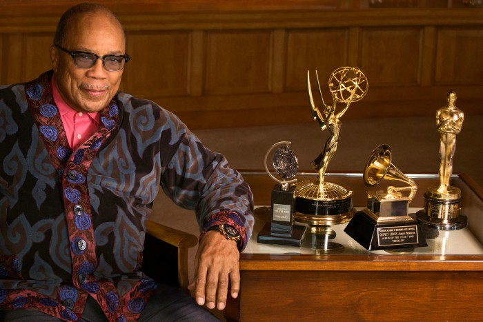 Quincy Jones interview